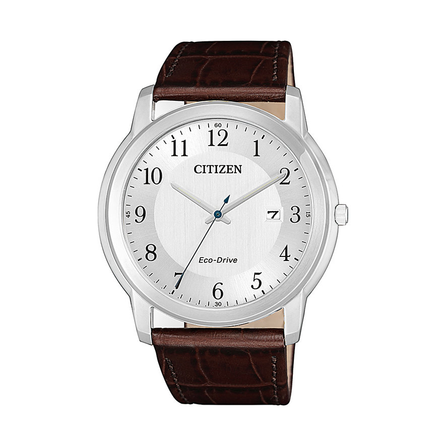 Citizen Herrenuhr Leather AW1211-12A