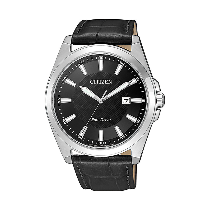 Citizen Herrenuhr Leather BM7108-14E