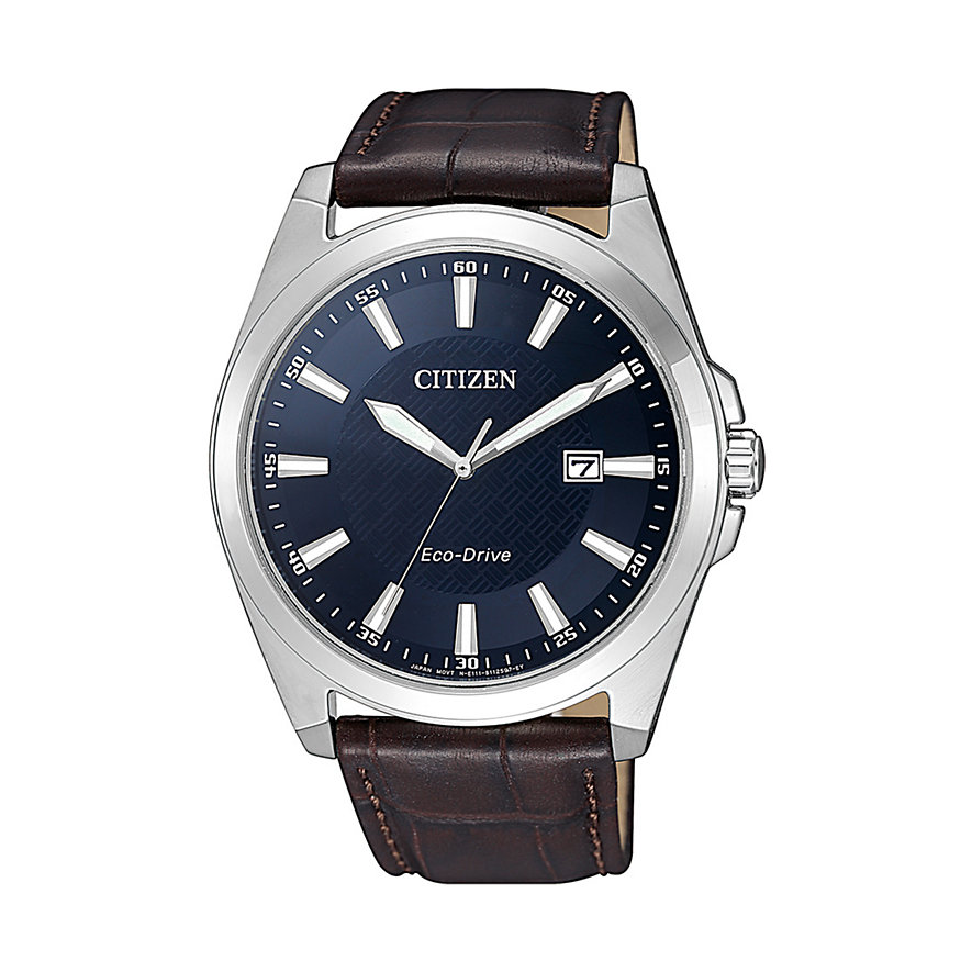 Citizen Herrenuhr Leather BM7108-22L