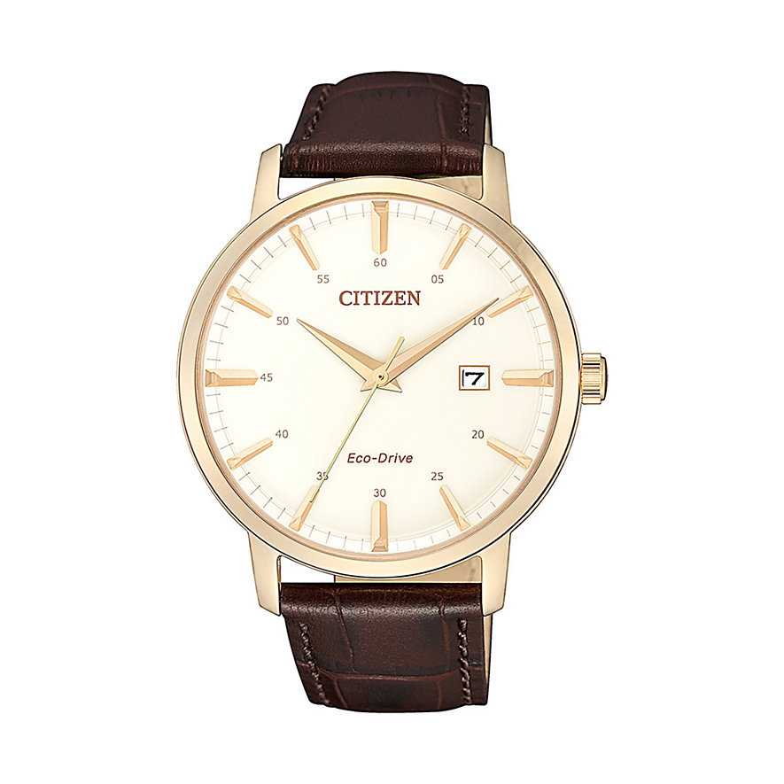 Citizen Herrenuhr Leather BM7463-12A
