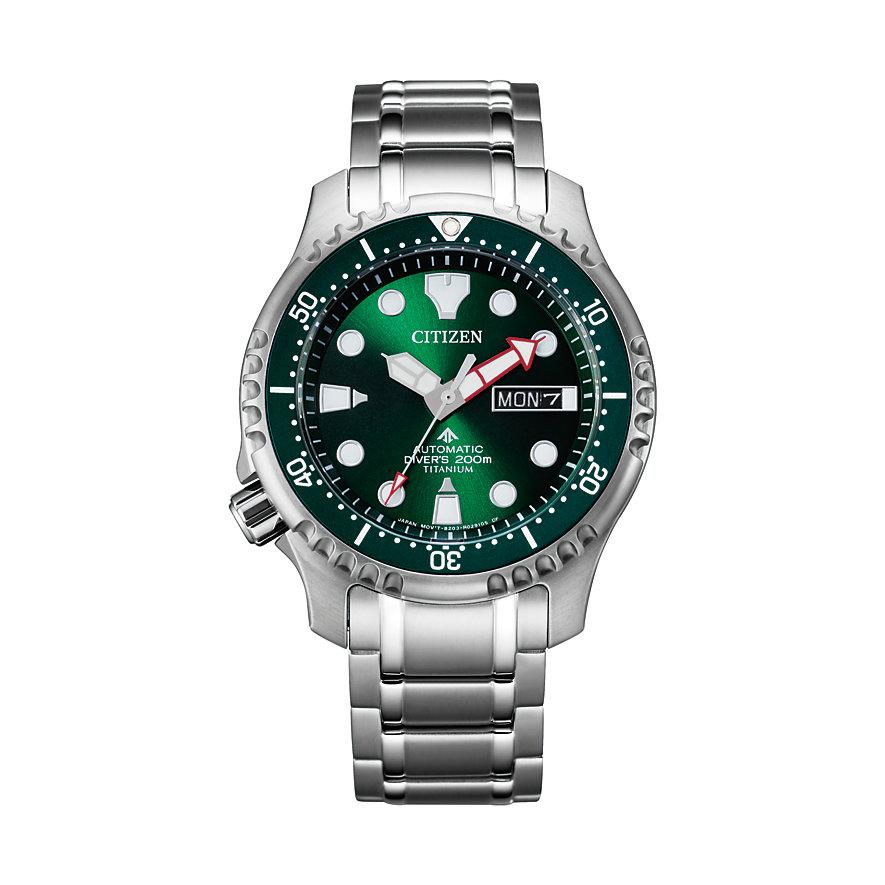 Citizen Herrenuhr Promaster Titanium Diver 200M NY0100-50XE
