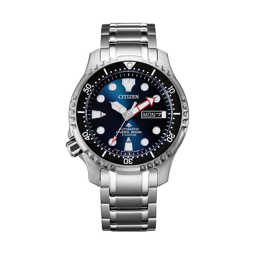 Citizen Herrenuhr Promaster Titanium Diver NY0100-50ME