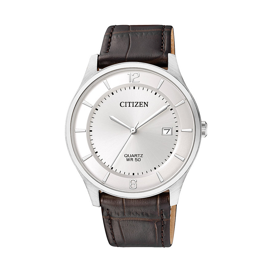 Citizen Quarz Herrenuhr Leather BD0041-11A
