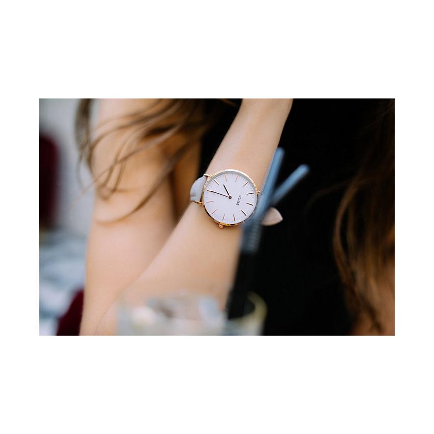Cluse Damenuhr  Boho Chic Rose Gold White/Grey CL18015