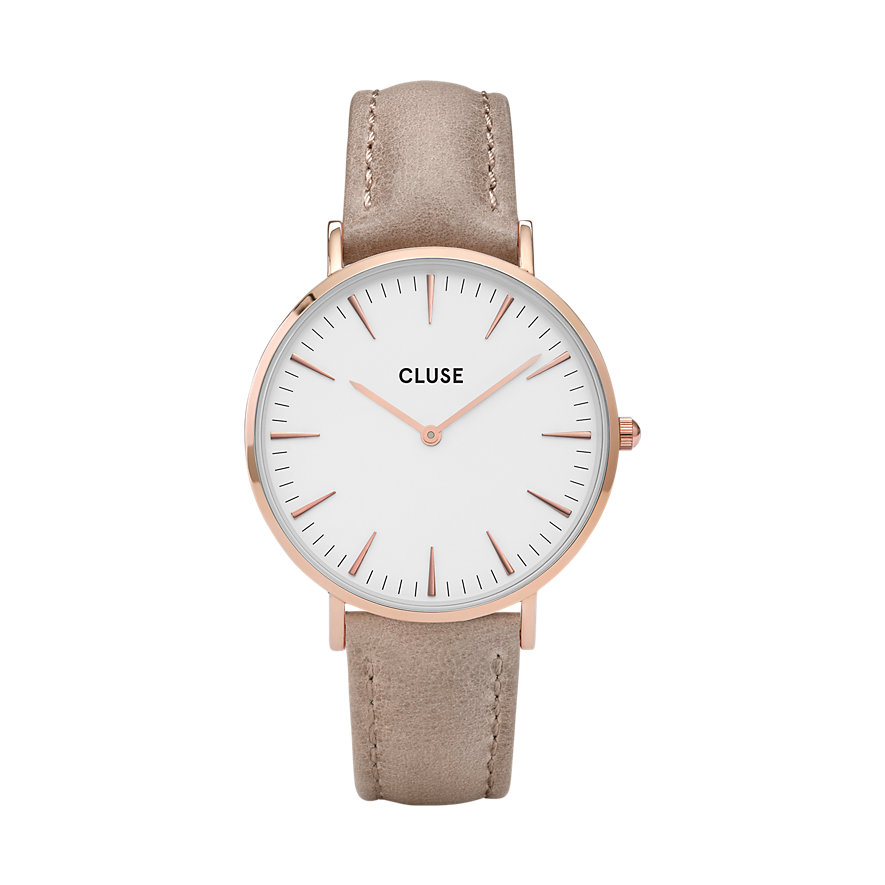 Cluse Damenuhr  Boho Chic Rose Gold White/Haze CW0101201015
