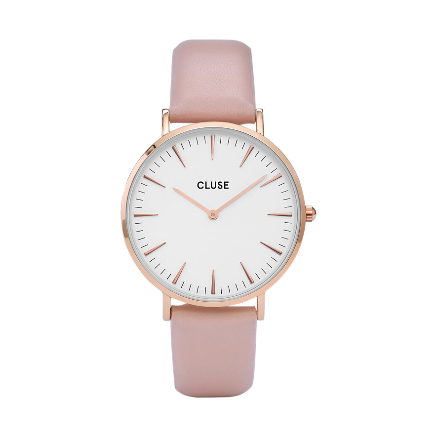 Cluse Damenuhr  Boho Chic Rose Gold White/Pink CW0101201012