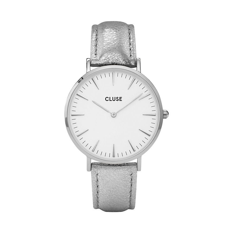 Cluse Damenuhr La Bohème Silver White CL18233