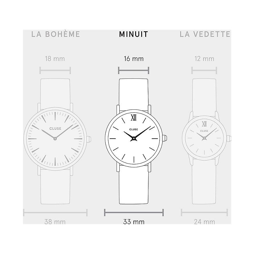 Cluse Damenuhr Minuit La Perle CL30047