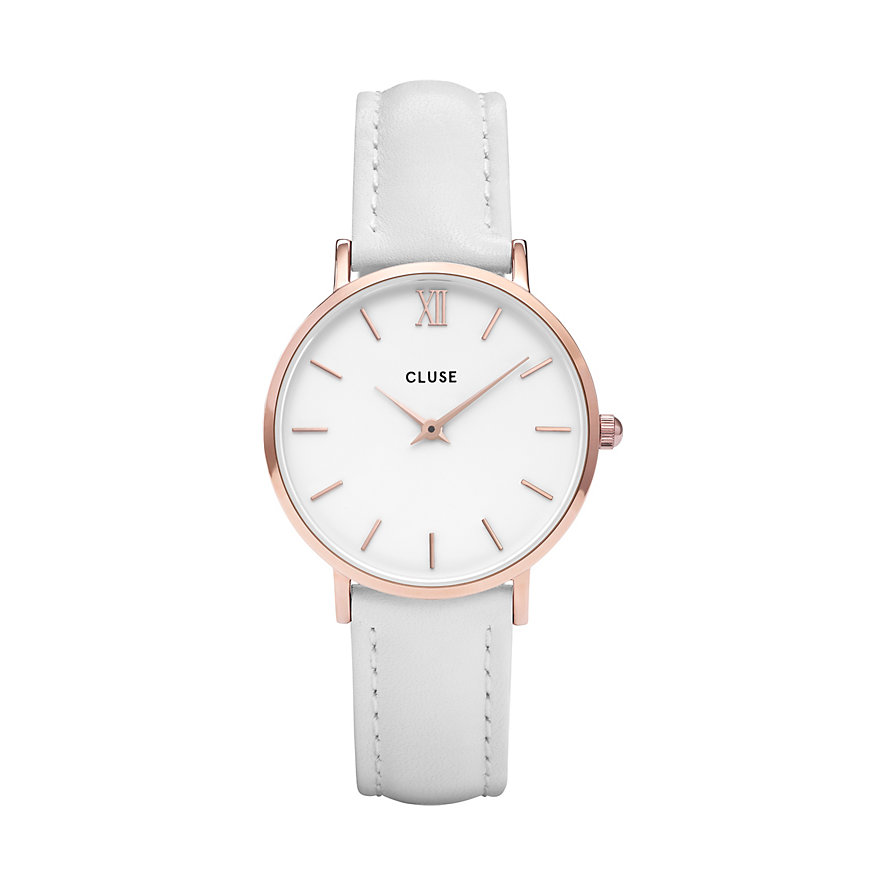 Cluse Damenuhr Minuit Rose Gold CL30056