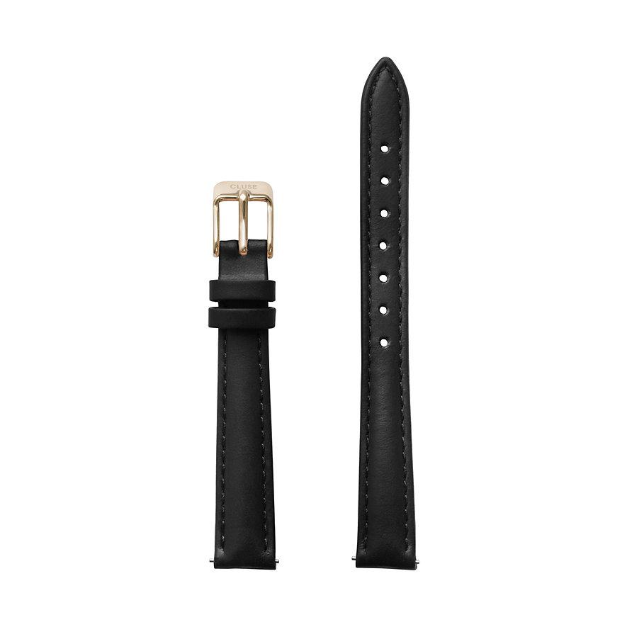 Cluse Lederband La Vedette Strap Black/gold CLS508