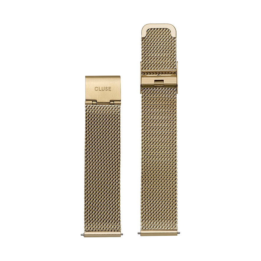 Cluse Metallband Minuit Strap Mesh Gold CLS346