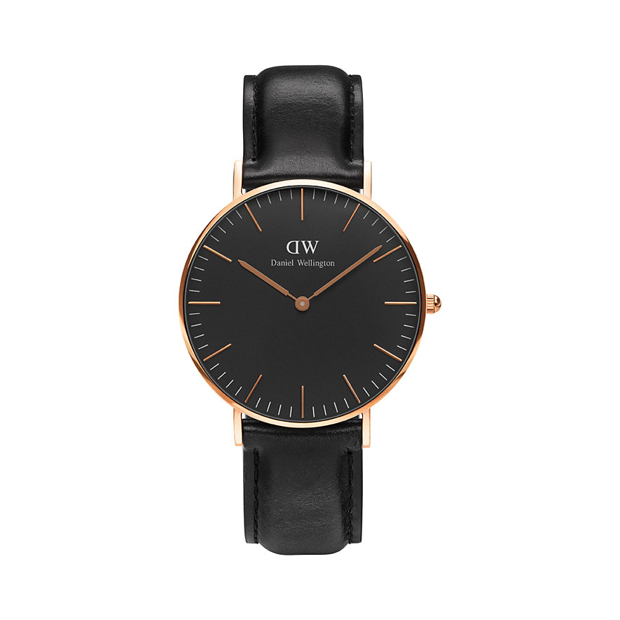 Daniel Wellington Damenuhr Classic Black Sheffield DW00100139