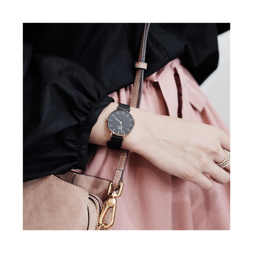 Daniel Wellington Damenuhr Classic Petite Ashfield Rose DW00100201