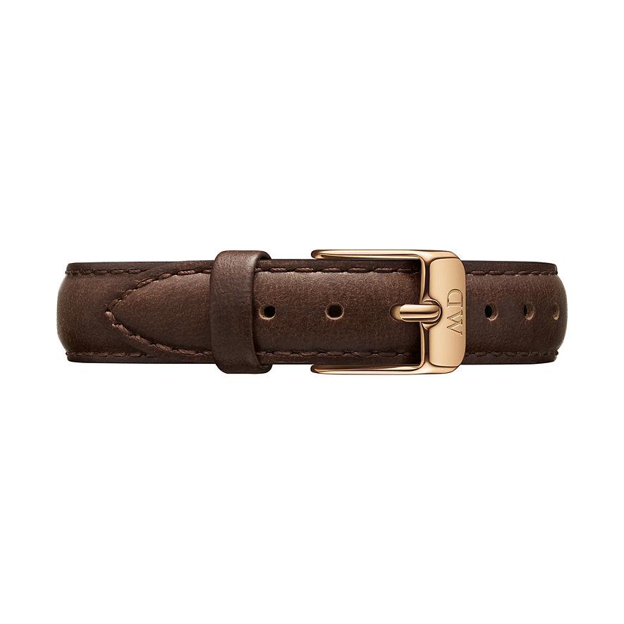 Daniel Wellington Uhrenarmband Leder Classic Petite 28 Bristol DW00200180