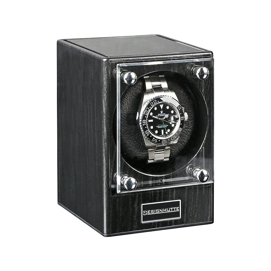 Designhütte Uhrenbeweger Piccolo Dark Ebon ohne Netzteil 70005/101