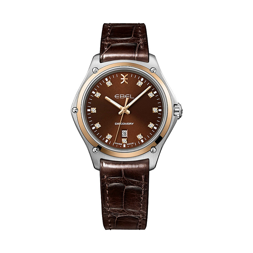 Ebel Damenuhr Discovery inkl. Wechselband 1216425