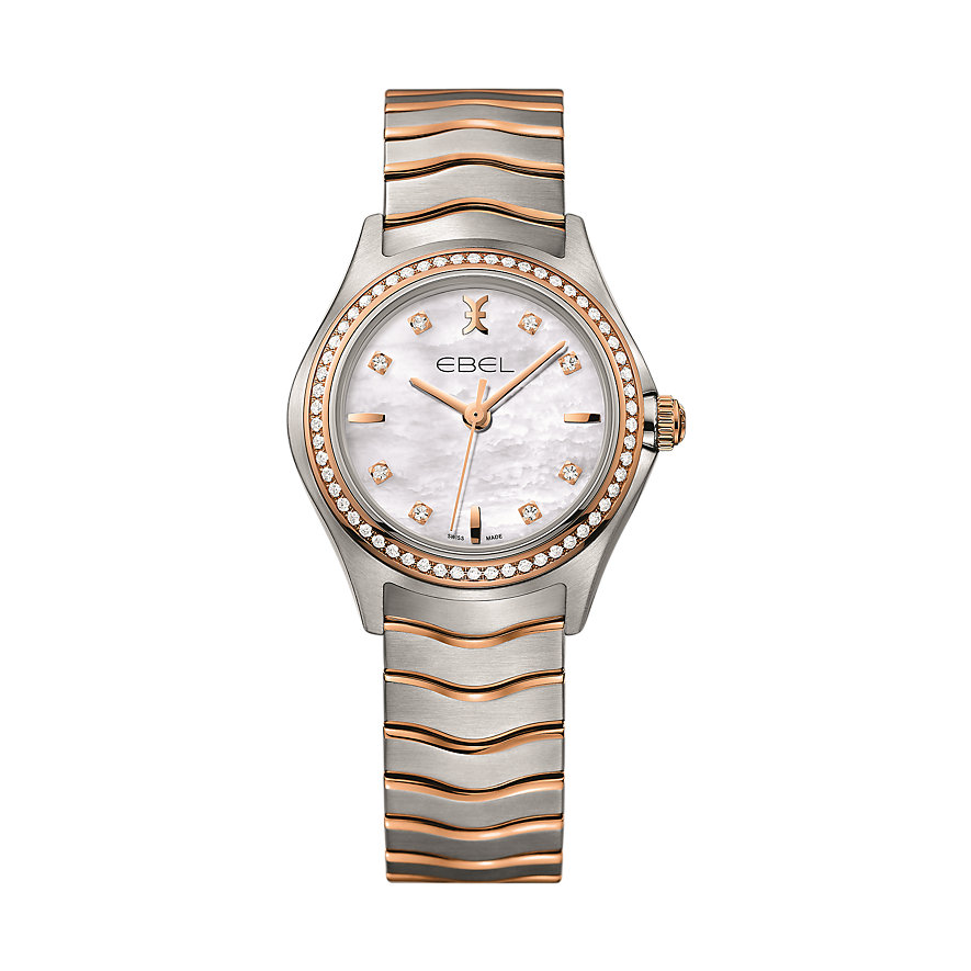 Ebel Damenuhr Wave Lady 1216325