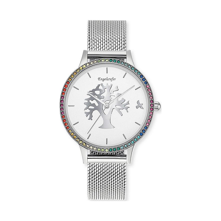 Engelsrufer Damenuhr Uhr Lebensbaum Silber
