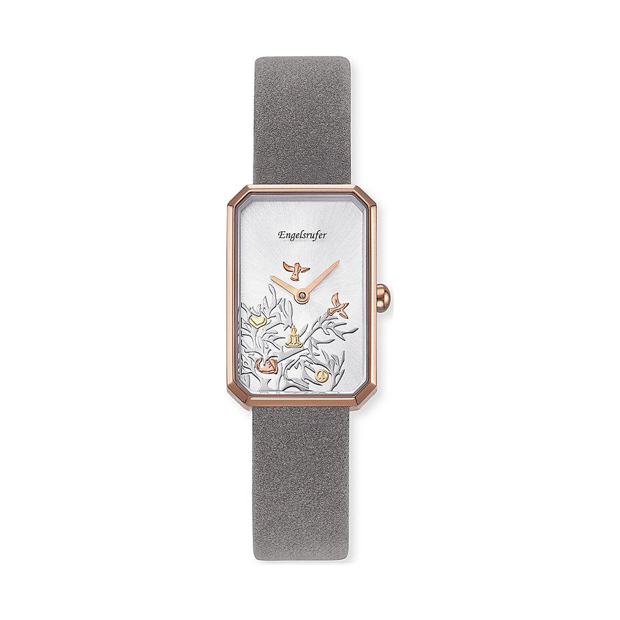 Engelsrufer Damenuhr Uhr Lebensbaum Tricolor Rosé