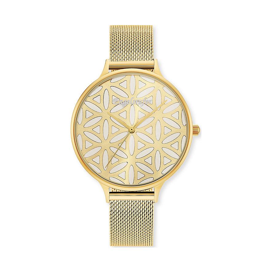Engelsrufer Damenuhr Uhr Lebensblume Gold