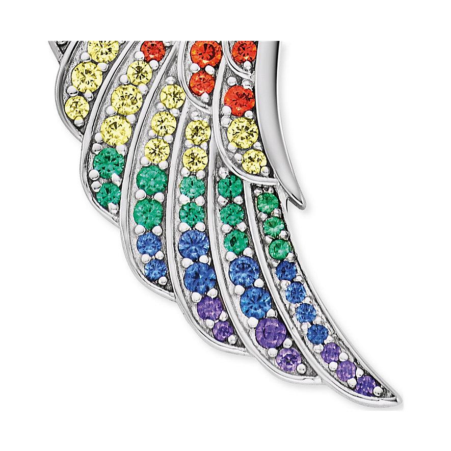 Engelsrufer Kette Flügel Multicolor