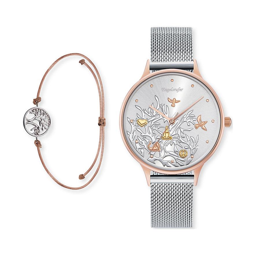 Engelsrufer Uhren-Set Lebensbaum ERWO-B-TR01MR-MS