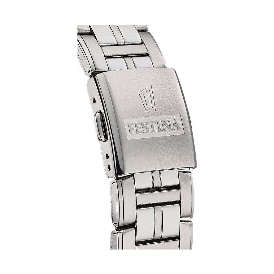 Festina Herrenuhr Classic Steel F20445/1