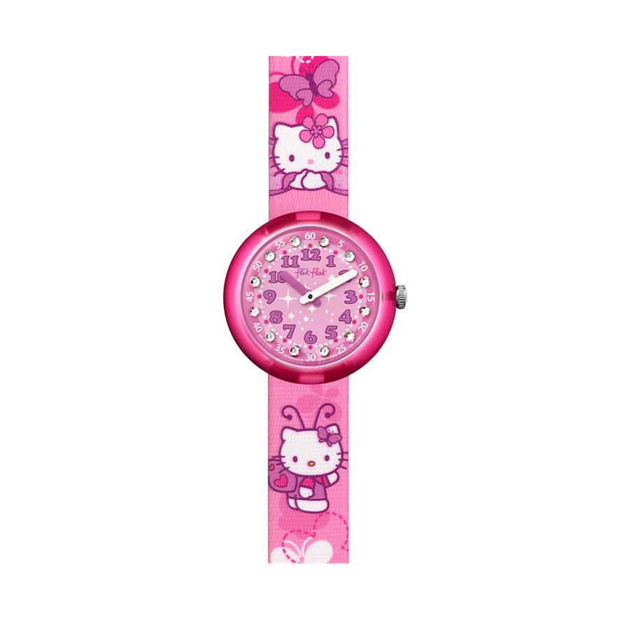 Flik Flak Kinderuhr Hello Kitty Butterfly FLNP005