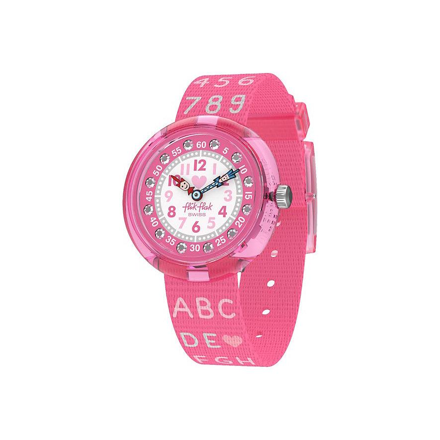Flik Flak Kinderuhr Pink FBNP133