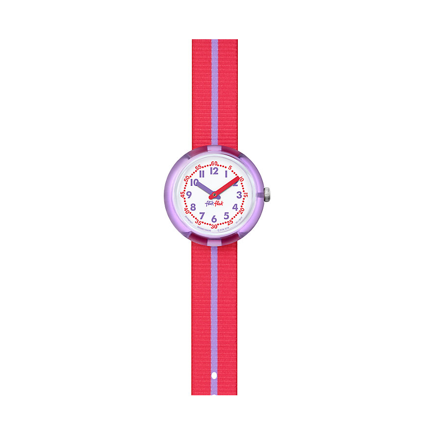 Flik Flak Kinderuhr Purple Band FPNP021