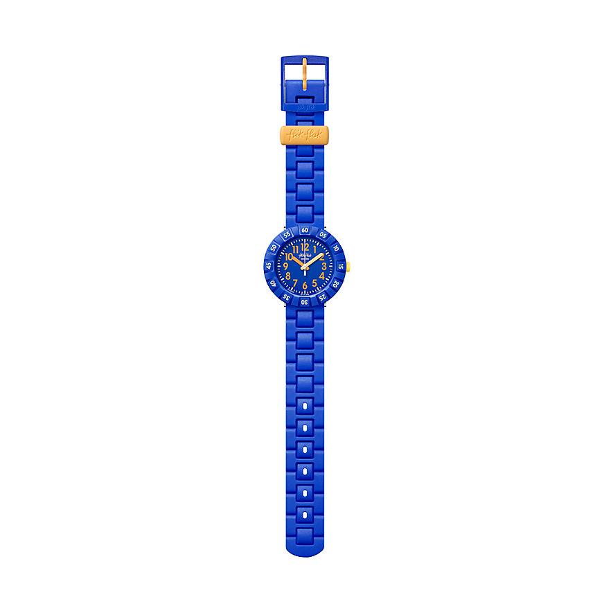 Flik Flak Kinderuhr Solo Blue FCSP085