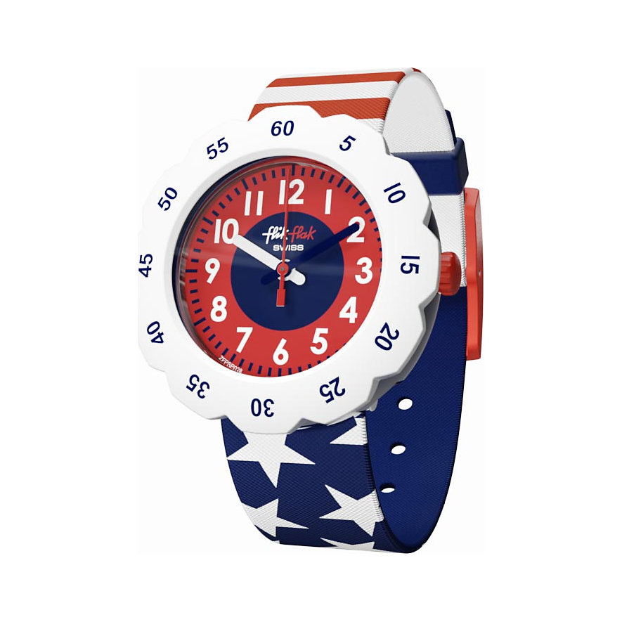 Flik Flak Kinderuhr Stars And Stripes FPSP028
