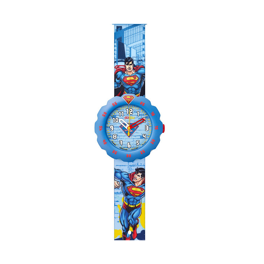 Flik Flak Kinderuhr Superman's Back In Town FLSP004