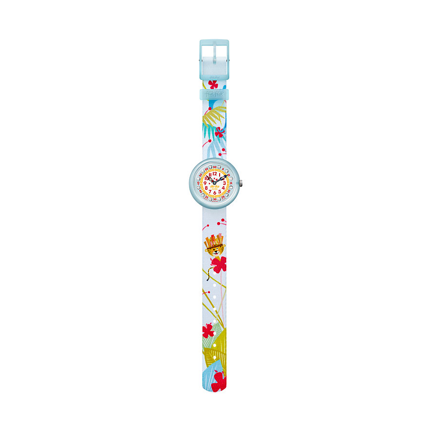 Flik Flak Kinderuhr Tropical Fun FBNP127