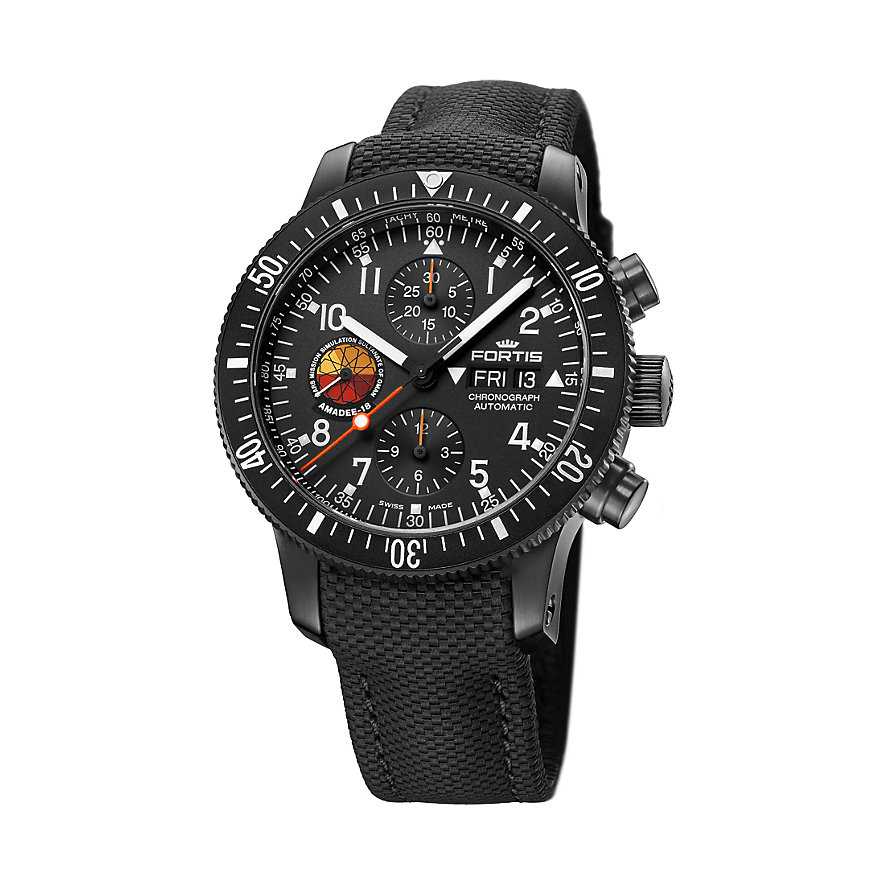 Fortis Chronograph Official Cosmonauts Amadee-18 638.18.91