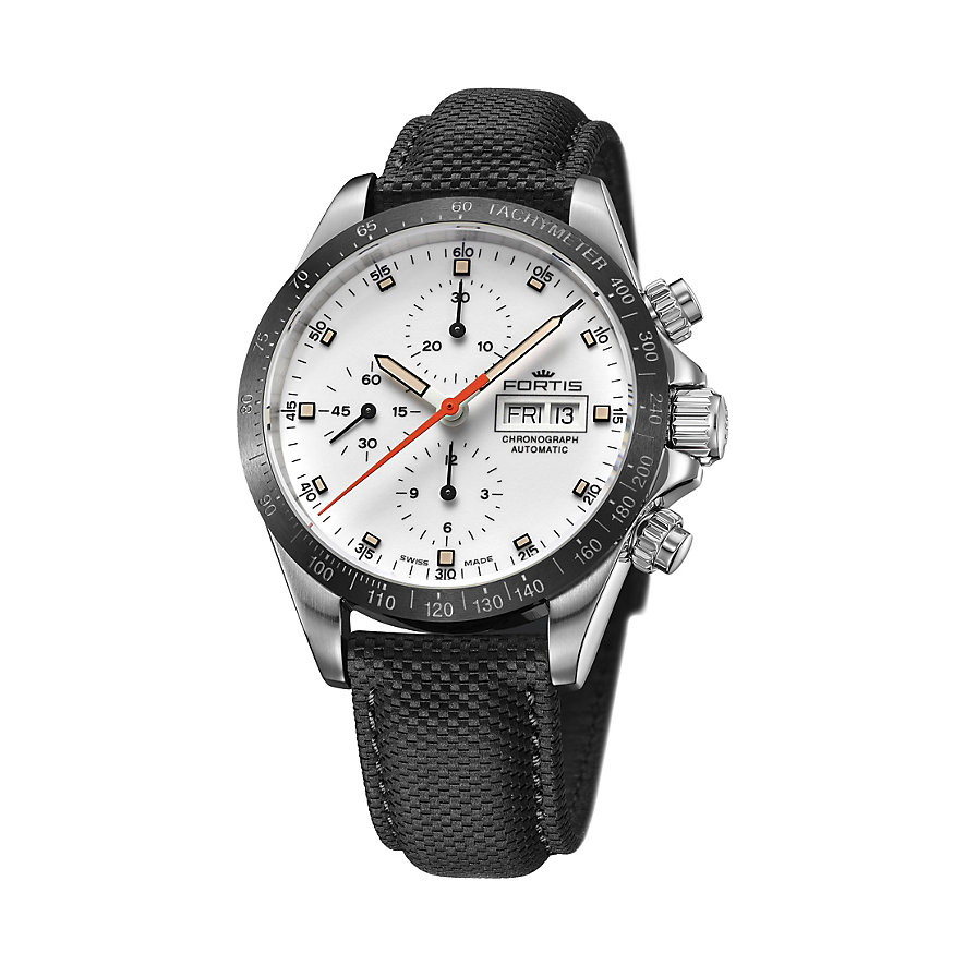 Fortis Chronographled Stratoliner Ceramic Am 401.26.32