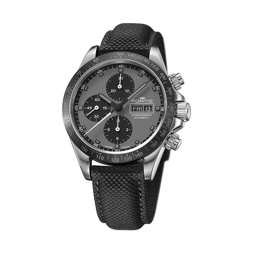 Fortis Chronographled Stratoliner Ceramic Black Le 401.26.37