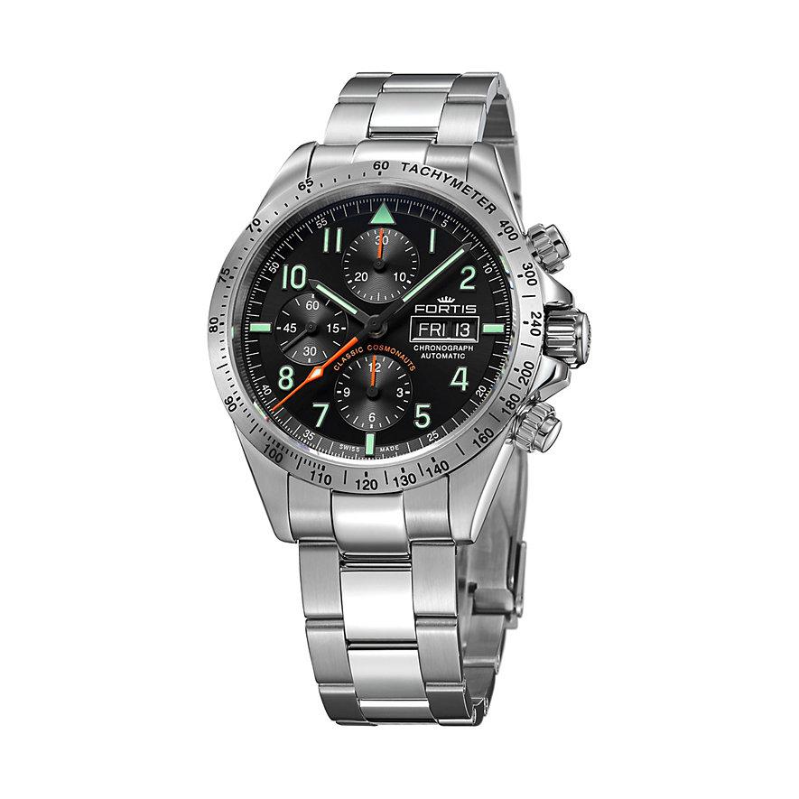 Fortis Chronographmet Classic Cosmonauts Steel Pm 401.21.11
