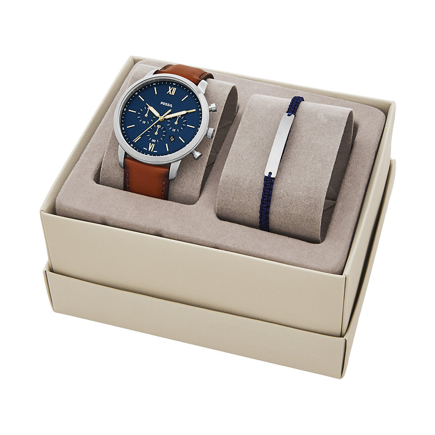 Fossil Uhren-Set NEUTRA CHRONO FS5708SET