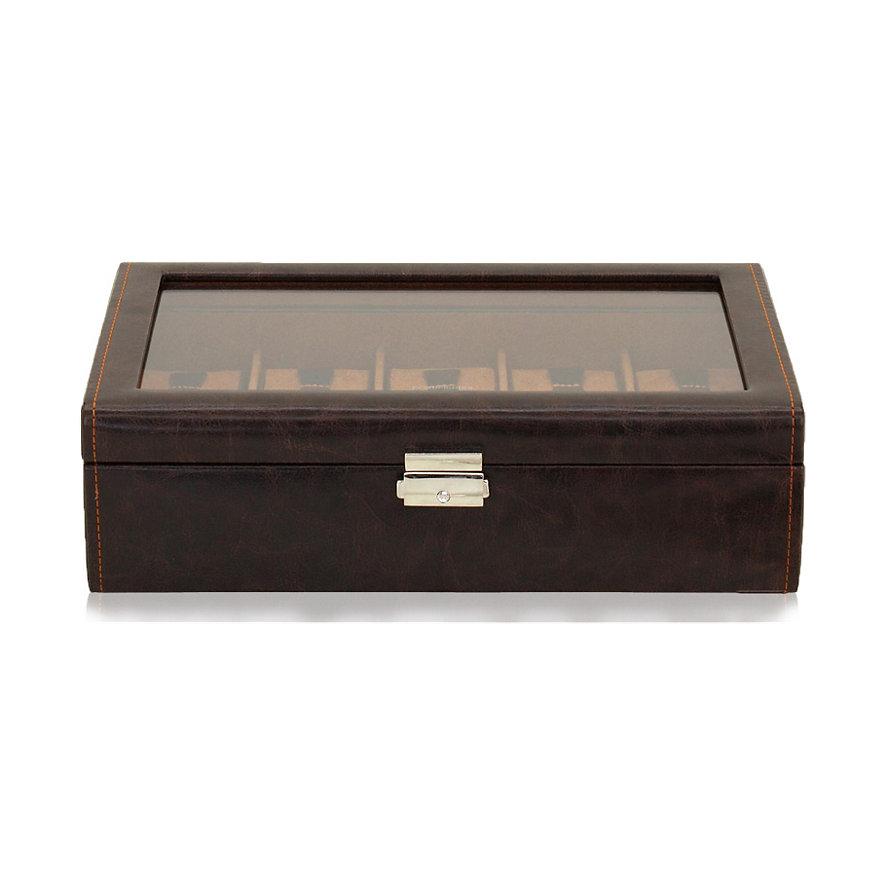 Friedrich Uhrensammelbox Bond 10 Braun 70021/381