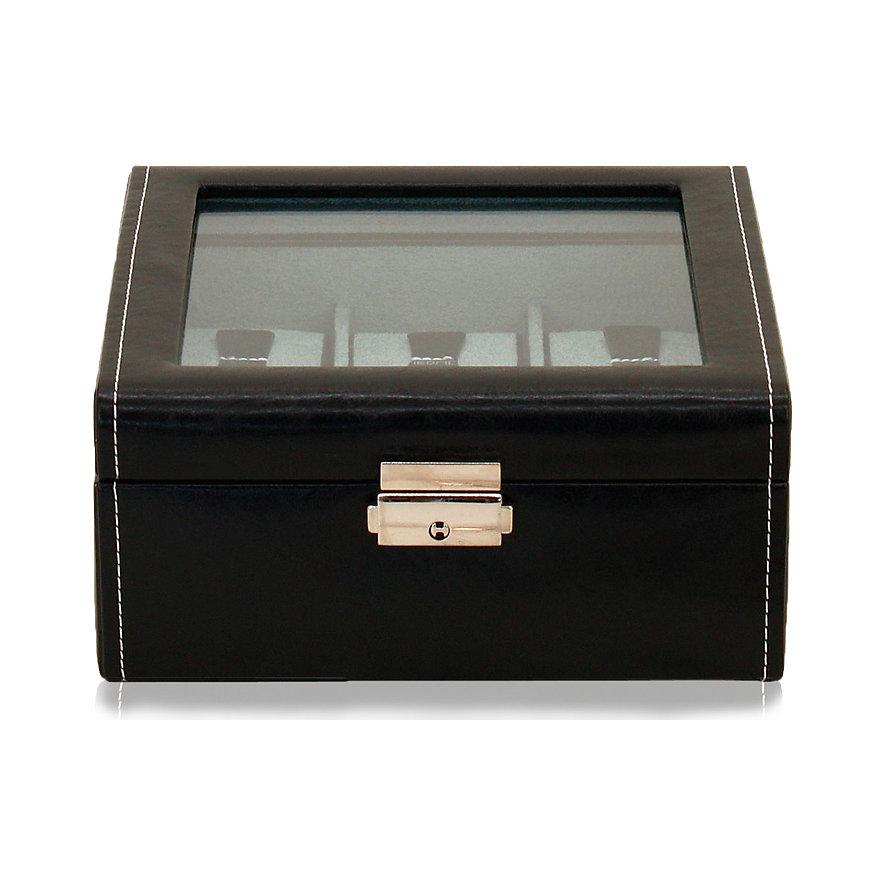 Friedrich Uhrensammelbox Bond 6 Schwarz 70021/382