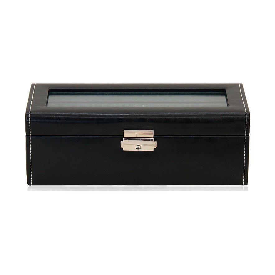 Friedrich Uhrensammelbox Uhrenbox Bond 4 Schwarz 70021/384