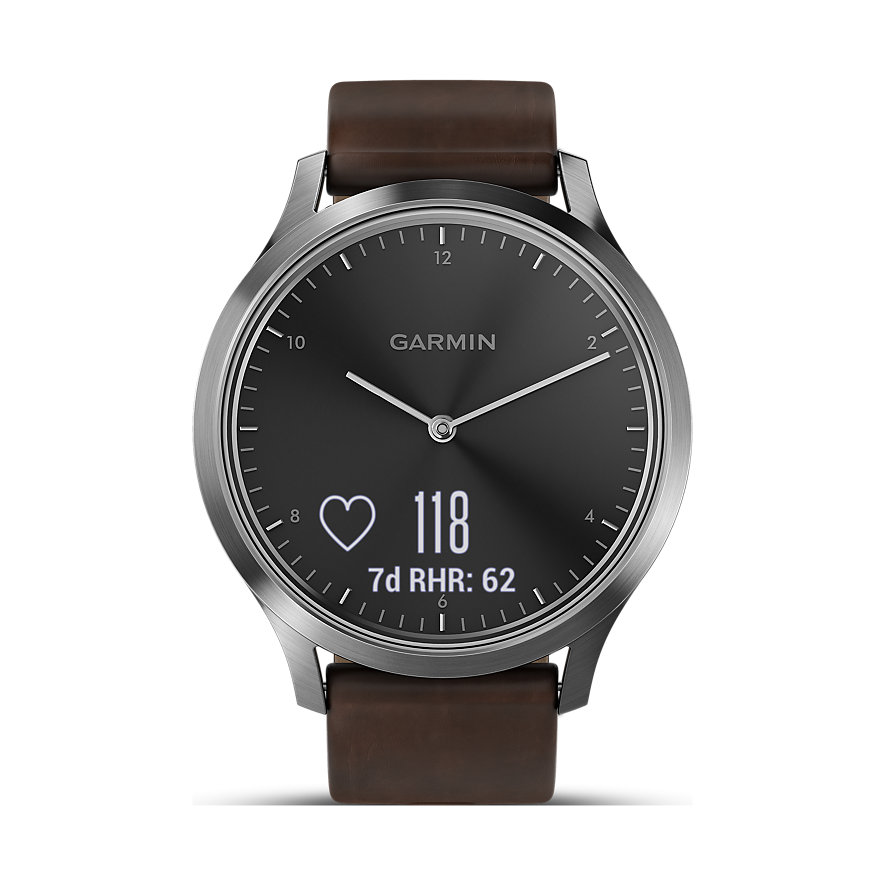 Garmin Herrenuhr Vivomove HR Premium 010-01850-04