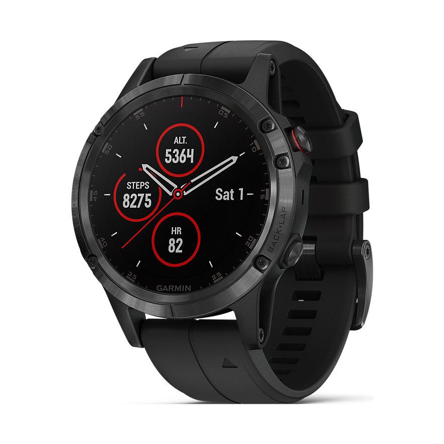 Garmin Smartwatch Fenix 5 Plus Sapphire 40-36-1357