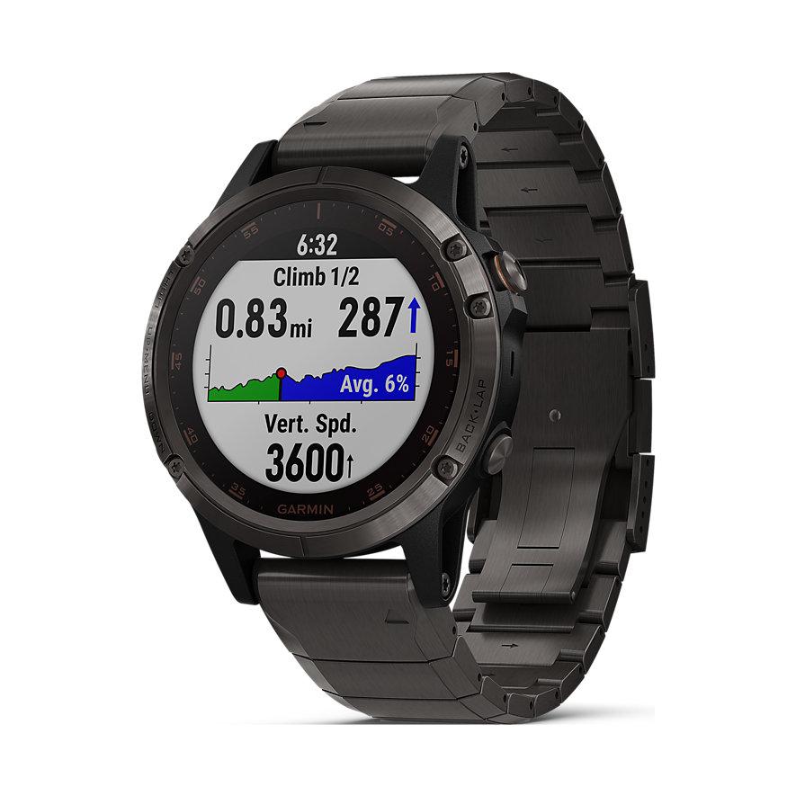 Garmin Smartwatch Fenix 5 Plus Sapphire DLC 40-36-1358