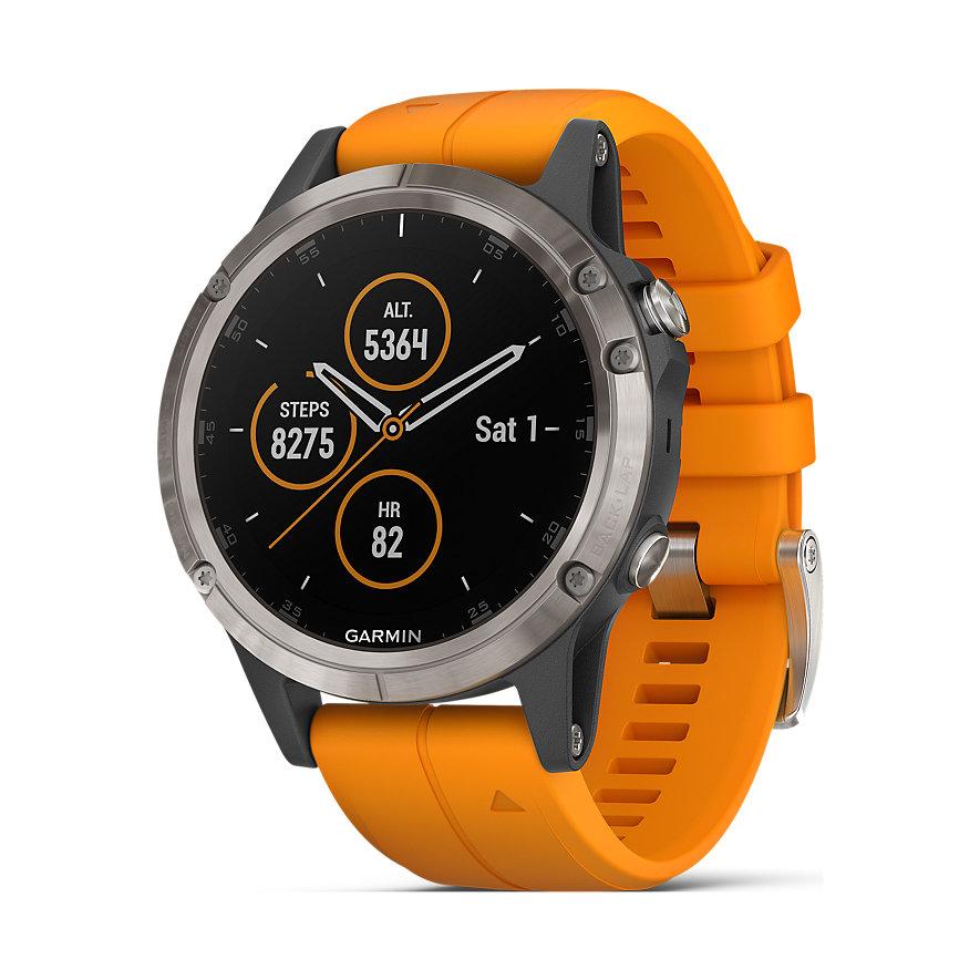 Garmin Smartwatch Fenix 5 Plus Sapphire Titanium 40-36-1359