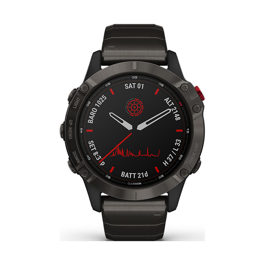 Garmin Smartwatch Fenix 6 Pro Solar 010-02410-23