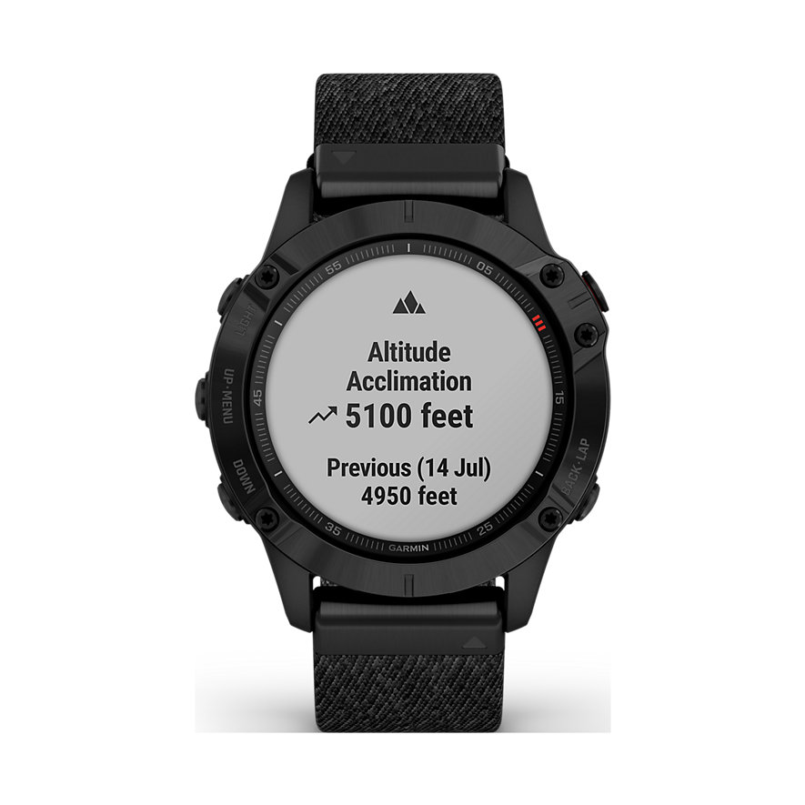 Garmin Smartwatch Fenix 6 Sapphire 010-02158-17