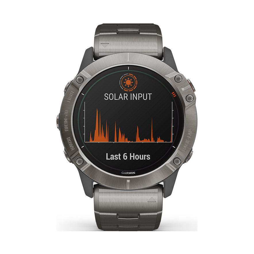 Garmin Smartwatch Fenix 6X Pro Solar Titanium 010-02157-24