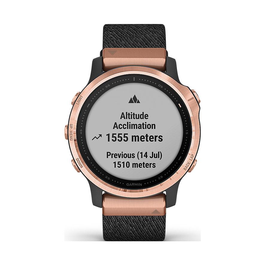 Garmin Smartwatch Fēnix 6S Sapphire 010-02159-37